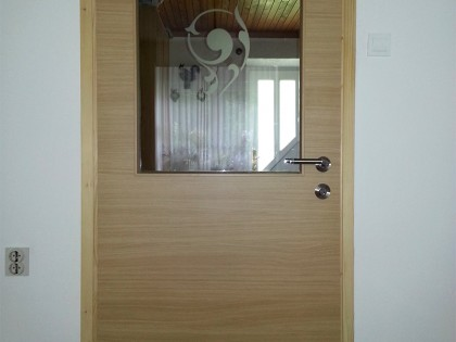 Notranja vrata s steklom
